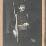 Felix Boon als Leuvense burgerwacht, met dank aan Pierre Taverniers voor de foto