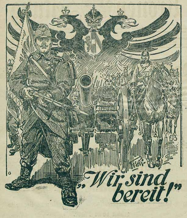 Illustrierte Kronen Zeitung 27.7.1914