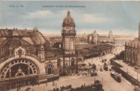 Keulen Hauptbahnhof 1914