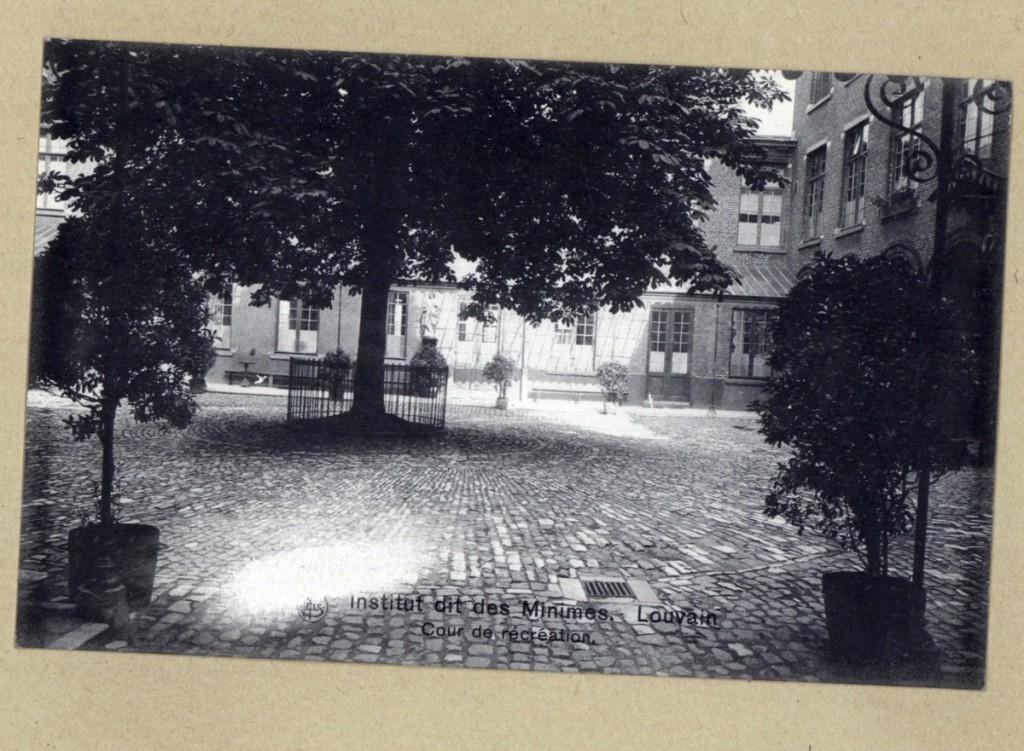 Binnenkoer Miniemenklooster Diestsestraat (UGent)