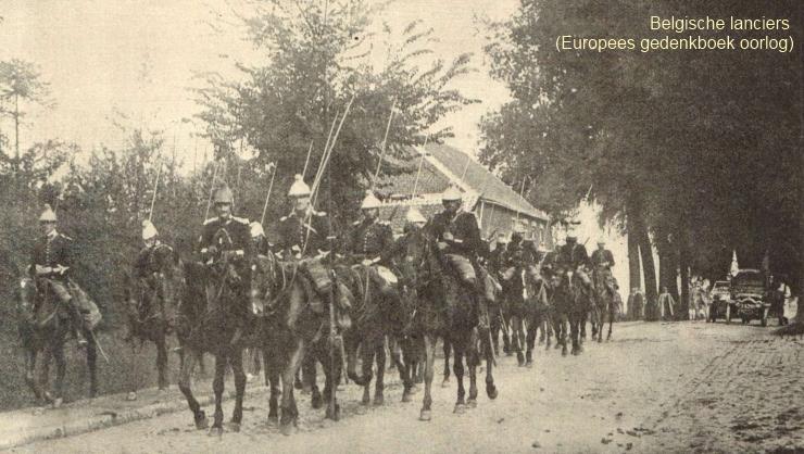 Belgische lanciers (Gedenkboek Europese Oorlog)