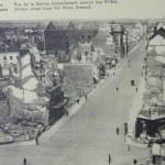 Statiestraat na 1918 (Stadsarchief Leuven)