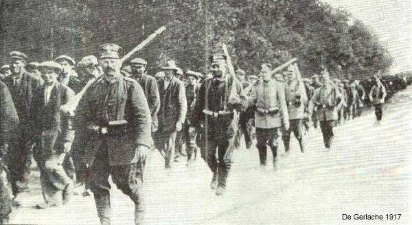 Leuvense gevangenen (foto de Gerlache 1917)