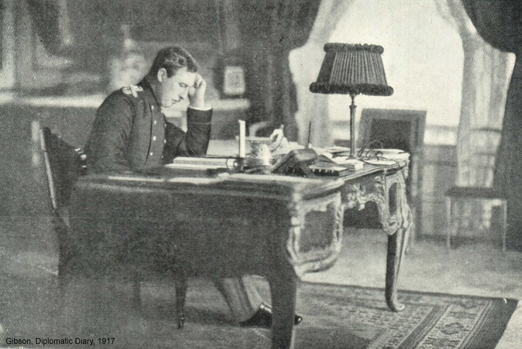 KoningAlbert_Gisbson_DiplomaticDiary_1917