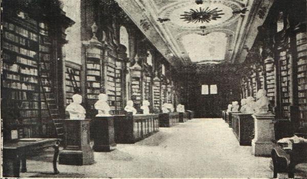 Oudemarkt bib binnen voor1914 fuglister oorlogsdagboek for Interieur leuven