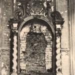 Vernielde zijkapel van de St-Pieterskerk (Library of Congress)