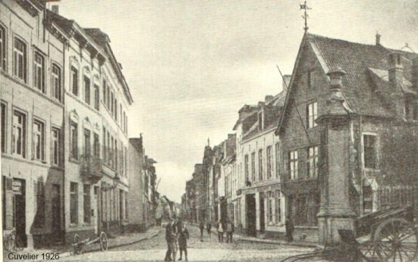 St-Thomashospitaal in de Tiensestraat (foto Cuvelier 1926)