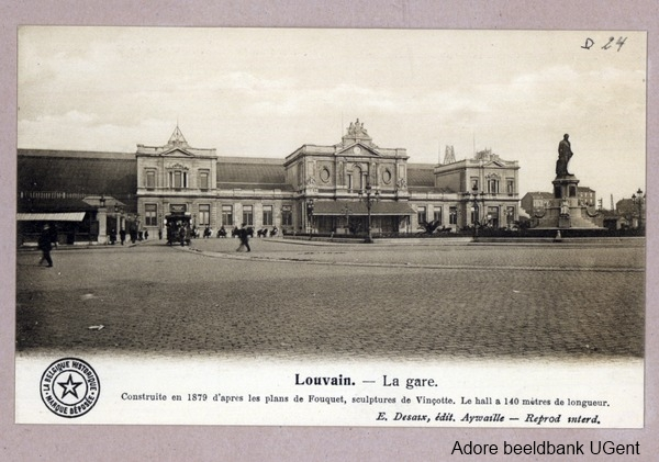 Station van Leuven (Adore beeldbank UGent)
