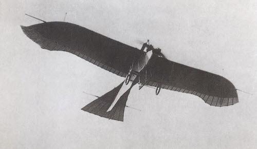 De eerste Duitse militaire vliegtuigjes werden 'Tauben' (duiven) genoemd