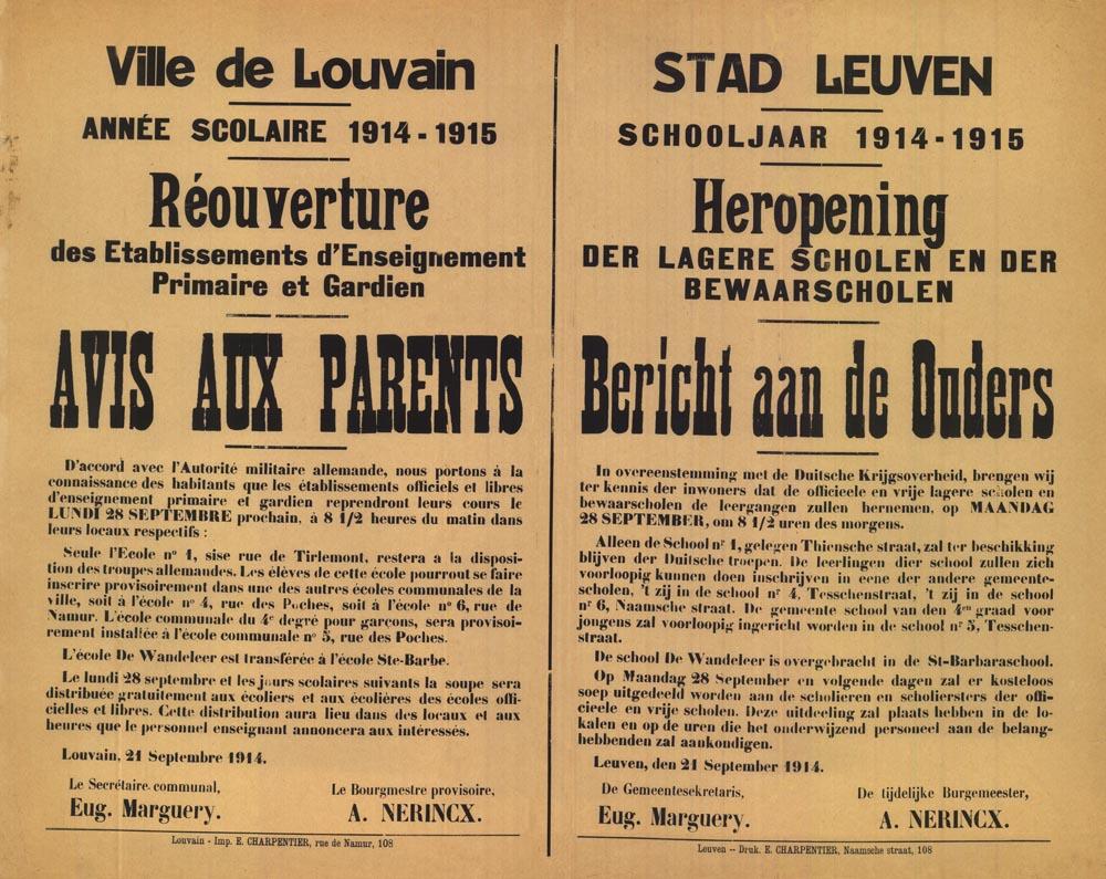 Affiche_19140921_heropening scholen