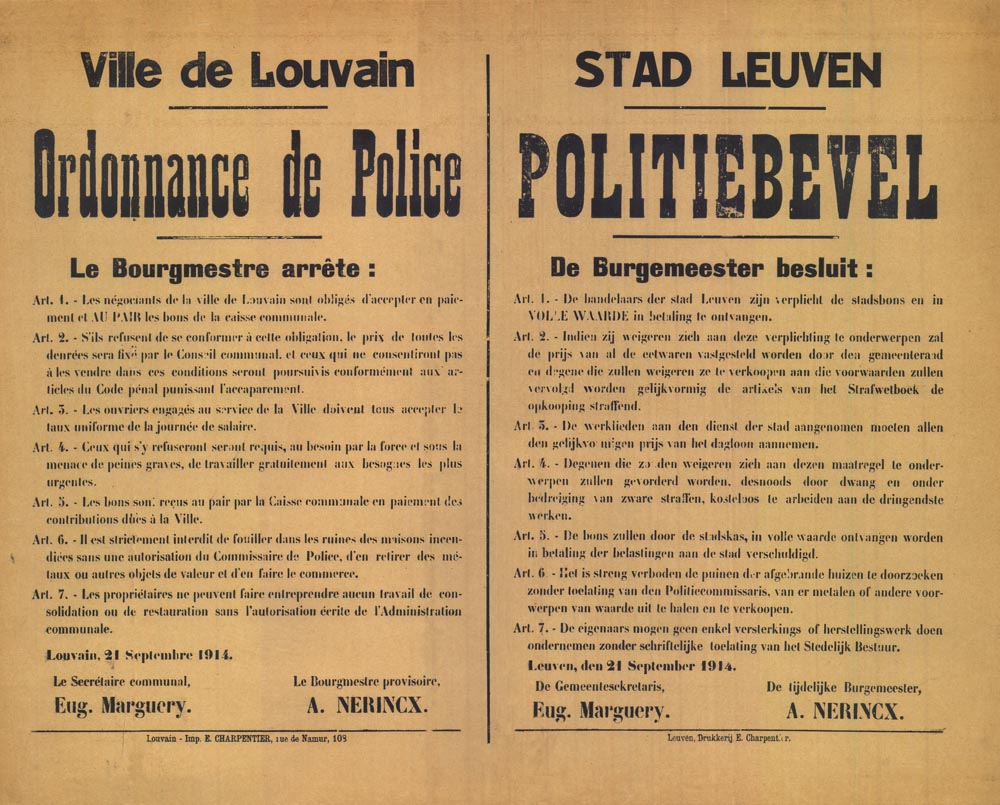 Affiche_19140921_verbod doorzoeken puinen
