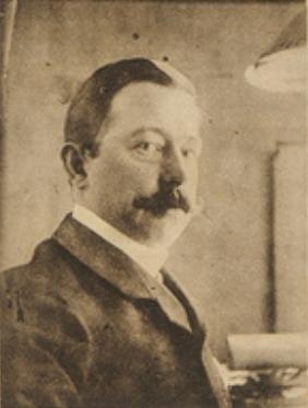 Prof. Vincent Lenertz die in de nacht van 25 op 26 augustus 1914 voor zijn woning werd doodgeschoten