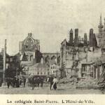 Zicht op de St-Pieterskerk vanaf de Oude Markt (foto Fuglister)