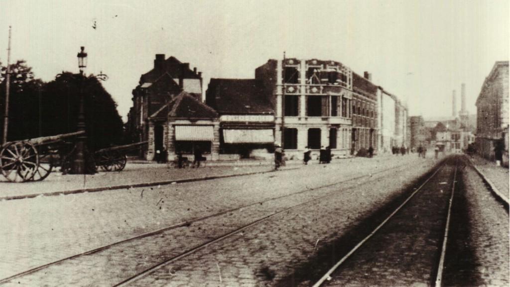 Diestsesteenweg (?) (foto Stadsarchief Leuven, Collectie Uytterhoeven)