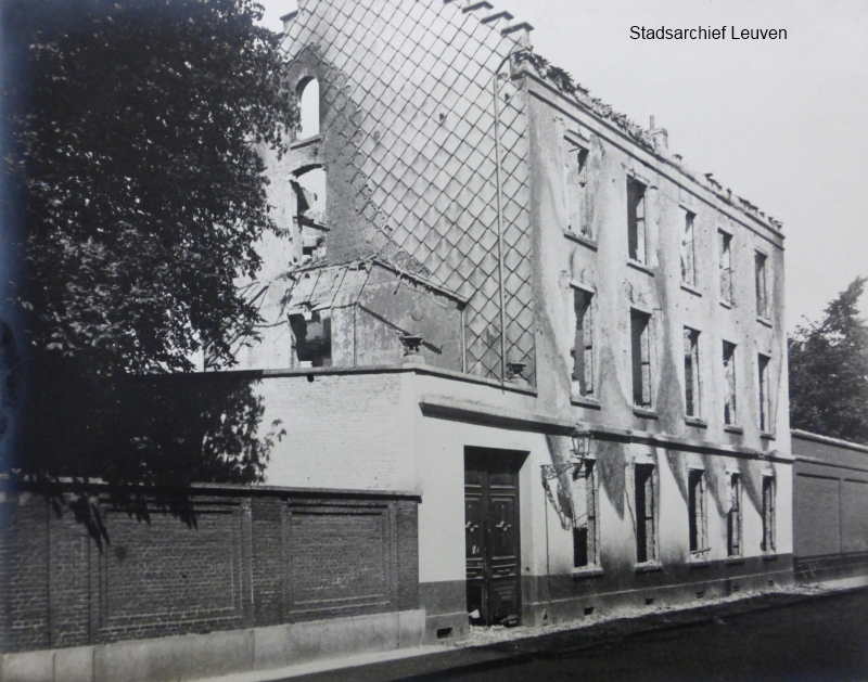 Maria-Theresiastraat, huis Martens (foto Stadsarchief Leuven, fototheek)